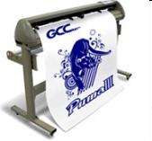 GCC台湾产云豹P3-60/132S 反光膜循边刻字机