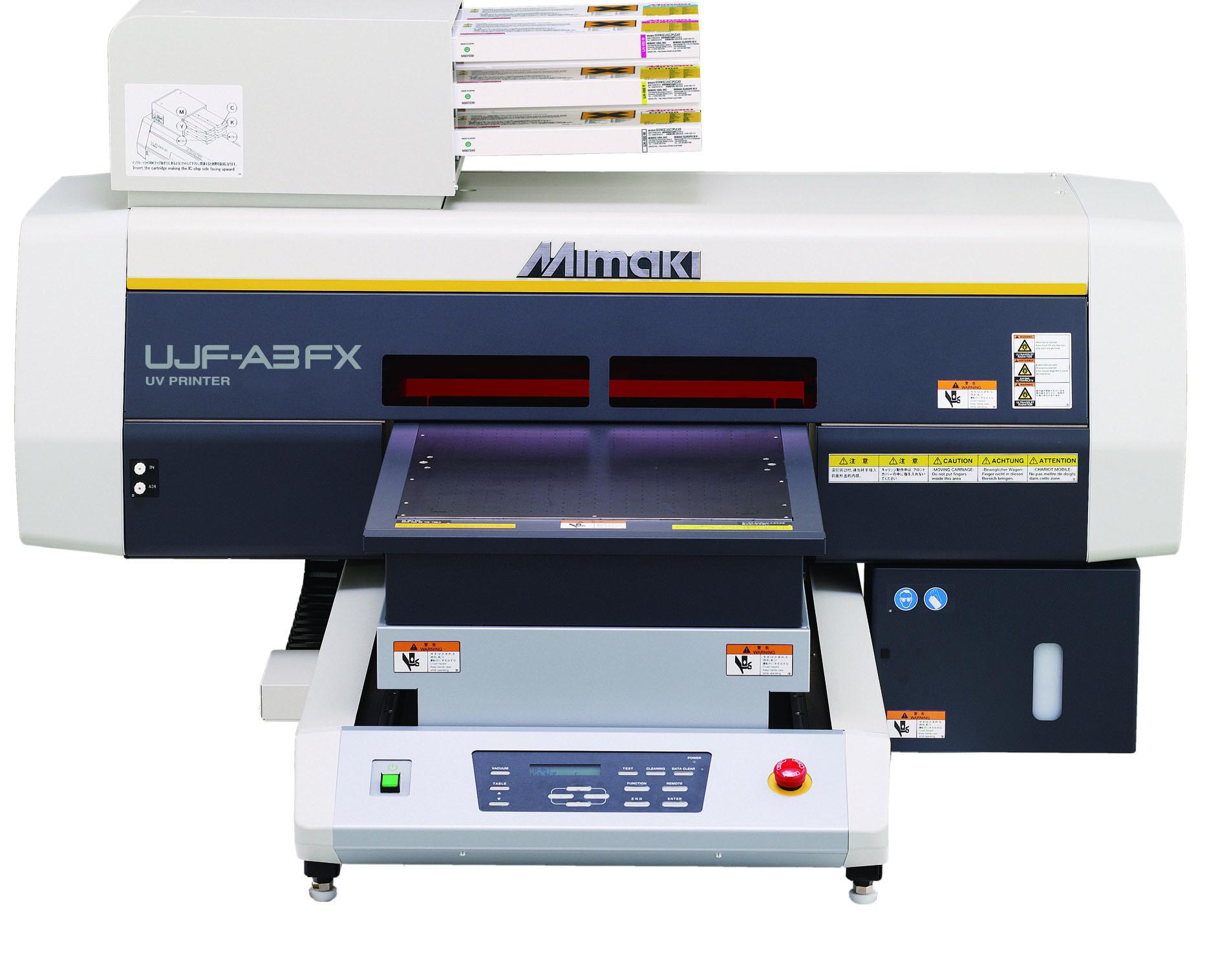 Mimaki UV平板喷墨式打印机 A3FX