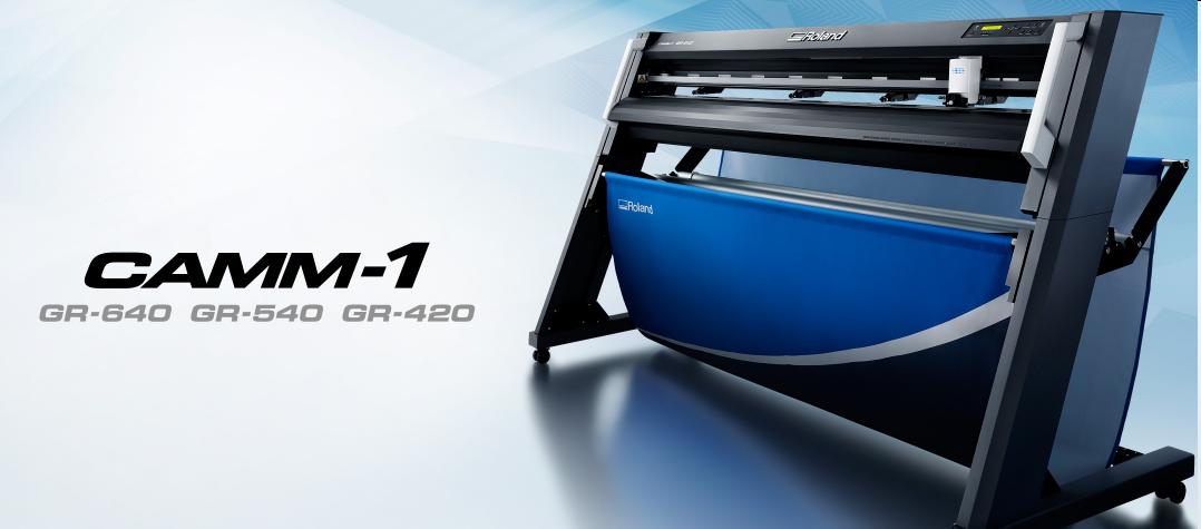 罗兰新款日本产工业级刻字机GR-540/GR640/GR420