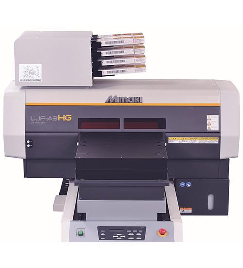 Mimaki UV平板喷墨式打印机 A3HG